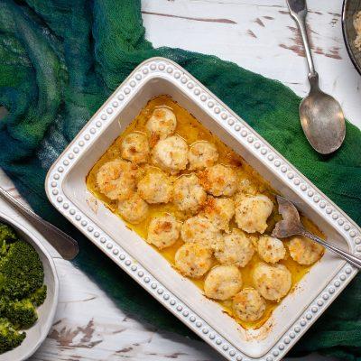 Lemon Butter Baked Scallops – CE