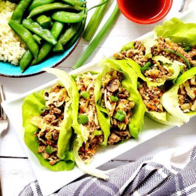 Moo Shu Pork Lettuce Wraps – CE