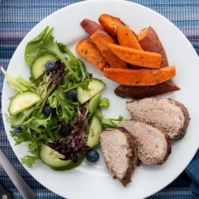 Pork Tenderloin Sweet Potato Sheet Pan – CE