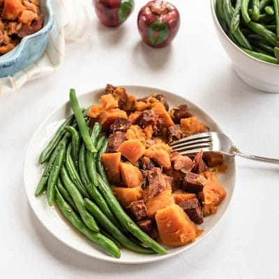Slow Cooked Ham and Sweet Potatoes – C