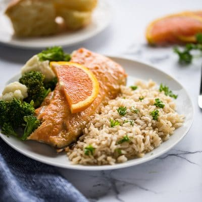 Maple Orange Glazed Salmon – CE