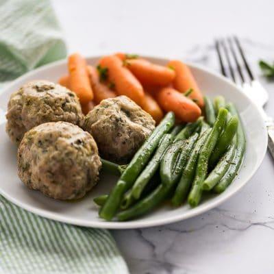 Slow Cooked Turkey Porcupine Meatballs – CE