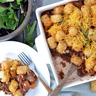 Sloppy Joe Tater Tot Casserole – GB1