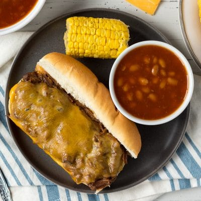 Slow Cooked BBQ Beef Sandwiches – FF