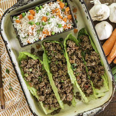 Asian Beef Lettuce Wraps – IP1