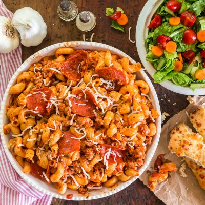 Instant Pot Pizza Pasta