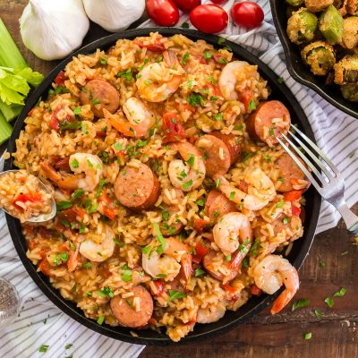 Sausage and Shrimp Jambalaya – IP1