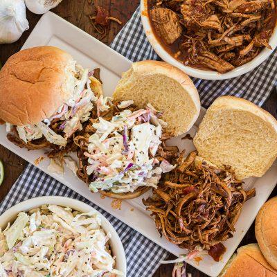 Southwestern Pulled Pork Sandwiches – IP1