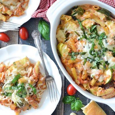 Baked Zucchini Ziti – C sample