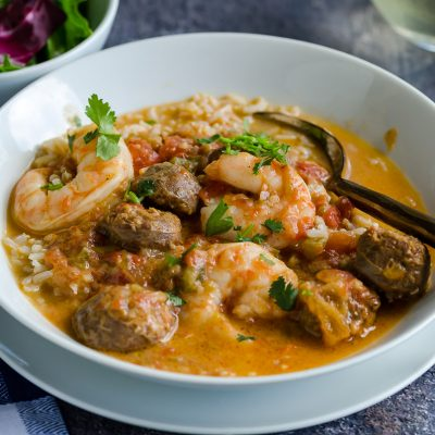 Slow Cooked Spicy Gumbo – CE