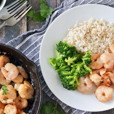 Broiled Honey Garlic Shrimp – CE