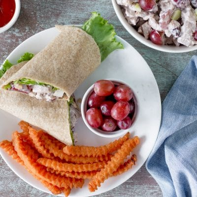 Chicken Salad with Grapes – CE