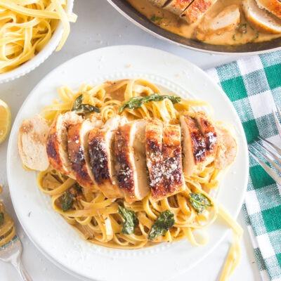 Lemon Butter Skillet Chicken – C