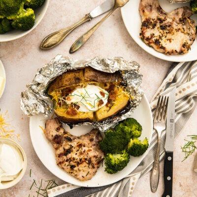 Rosemary Garlic Grilled Pork – C