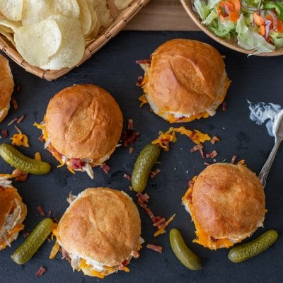 Cheddar Bacon Ranch Sliders – C
