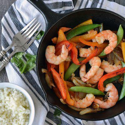 Sesame Shrimp Stir Fry – W30