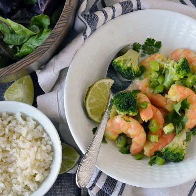 Coconut Curry Shrimp – W30