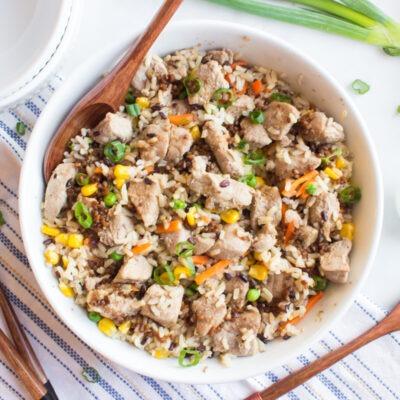 Pork UnFried Rice- CE