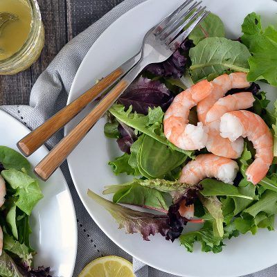 Shrimp and Arugula Salad with Citrus Vinaigrette – W30