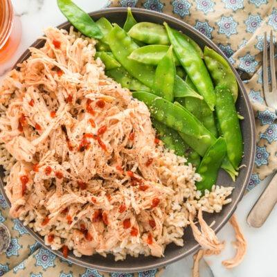 Slow Cooker Honey Sriracha Chicken  – C