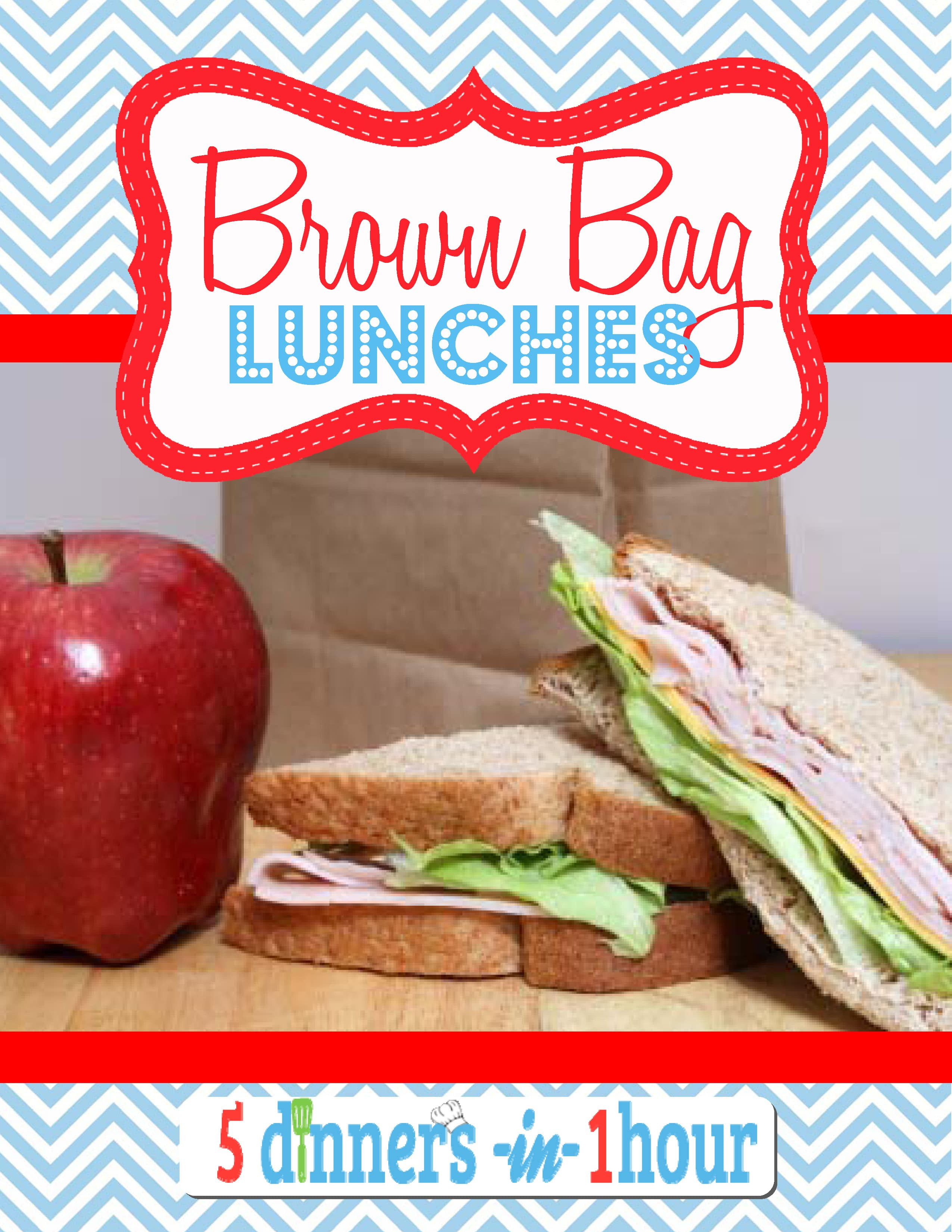 Brown Bag Lunch Menu - Vol. 1