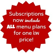 all menu plans one low price