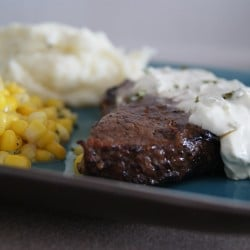 5 ingredient balsamic steak