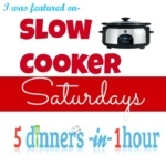 slow cooker saturdays button