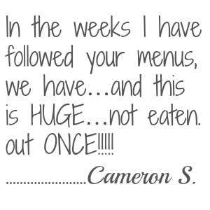 cameron testimonial