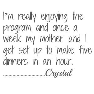 crystal testimonial