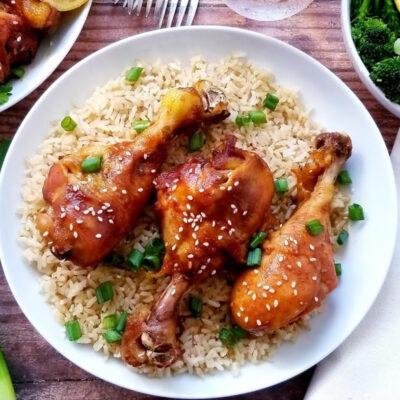 Slow Cooker Soy Garlic Chicken – C