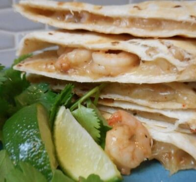 Shrimp Quesadillas Your Family Will Love