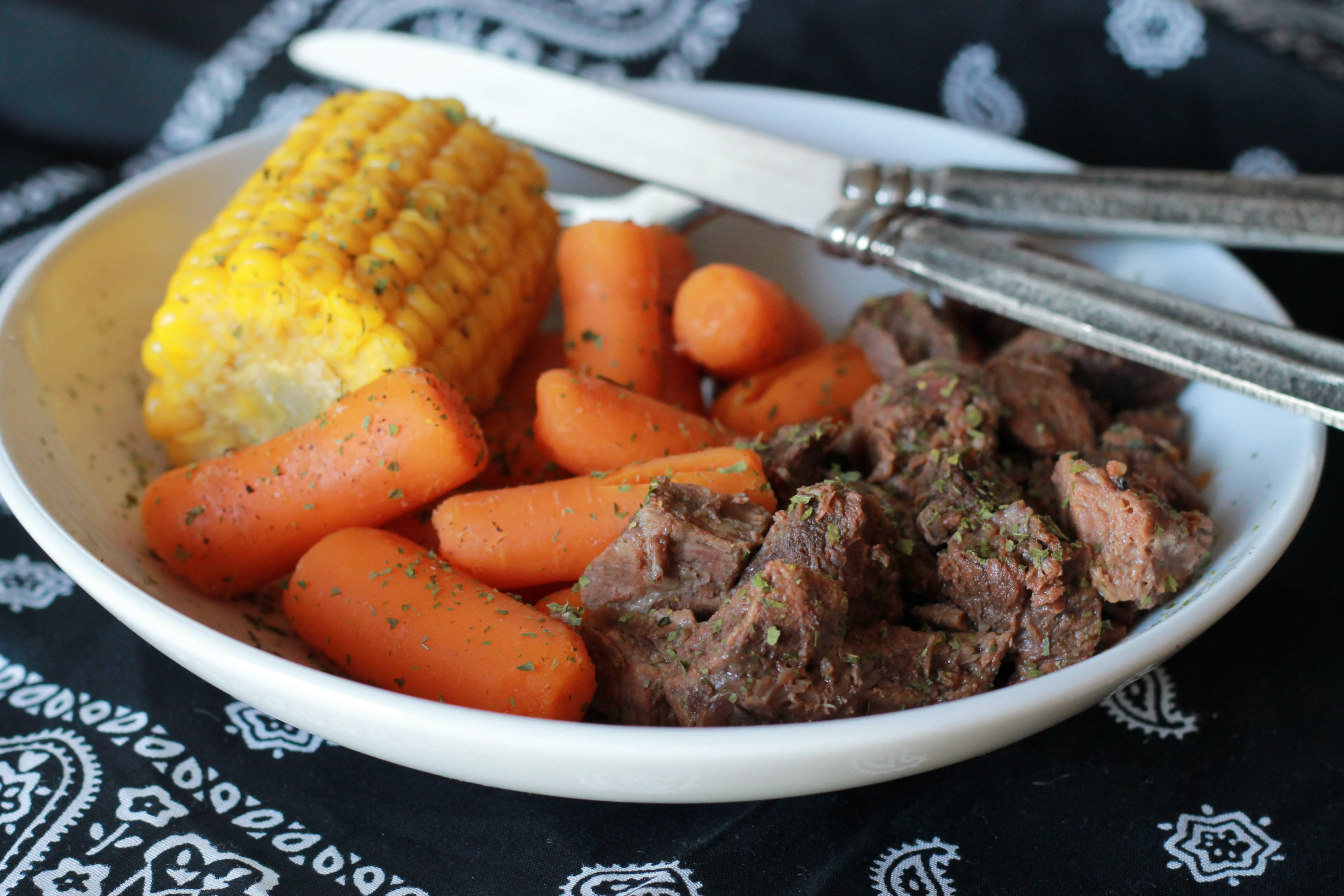 Slow Cooked Tangy Beef – GF