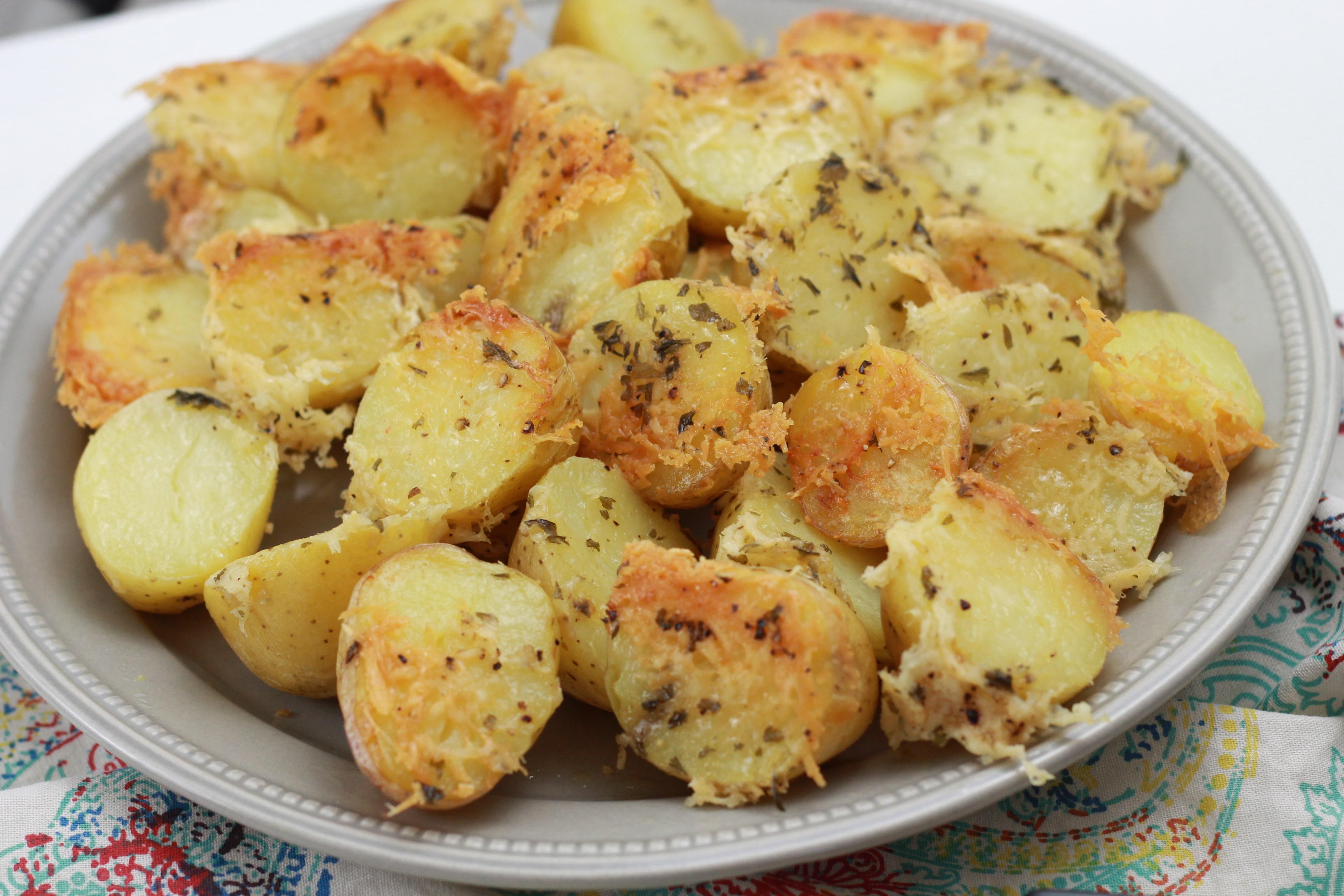 Baked Parmesan Potatoes