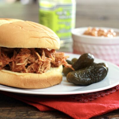 Slow Cooked Pulled Pork Sloppy Joes