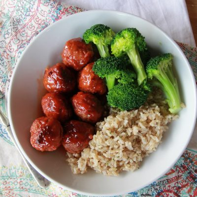 Sweet and Spicy Meatballs – C