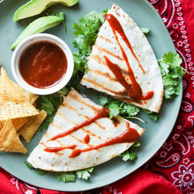 BBQ Chicken Quesadillas – CE