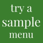 prepping meals post sample button