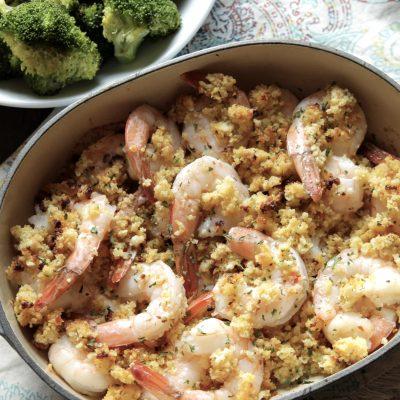 Baked Shrimp Scampi – GF