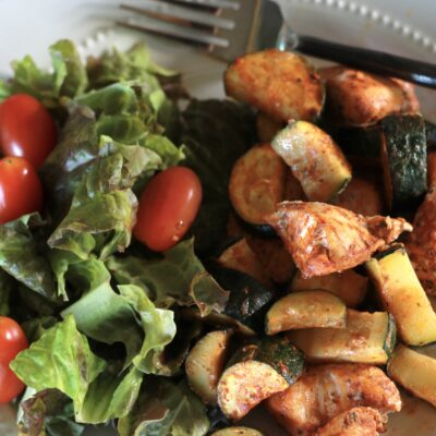 Zesty Grilled Chicken Un-Kabobs – B