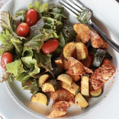 Chicken Unkabobs – One Pan Meal Idea