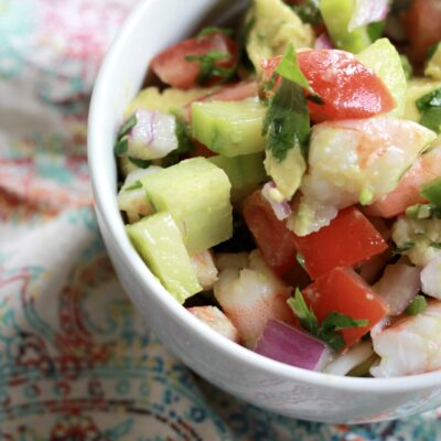 Cool Shrimp Ceviche Salad
