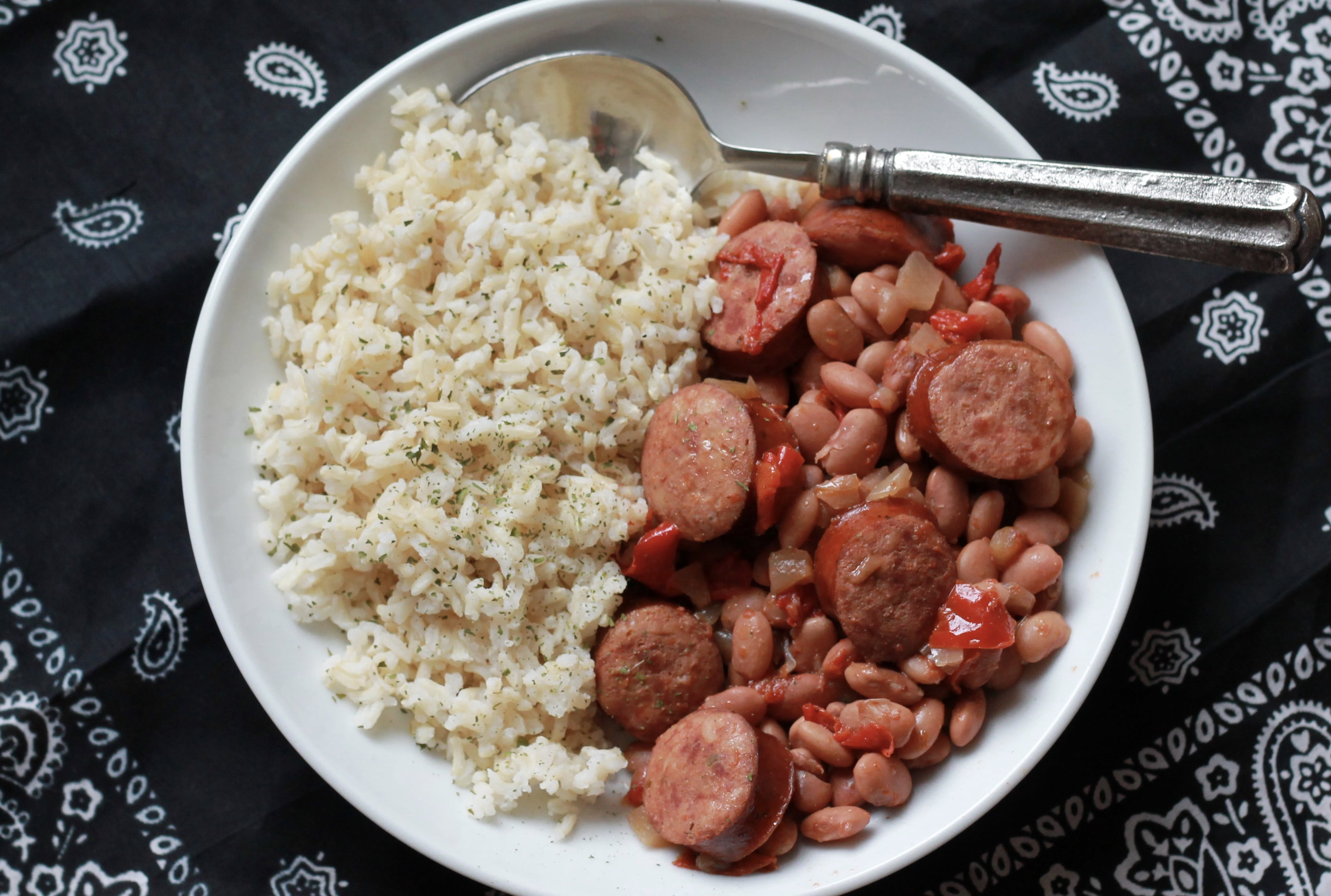 Slow Cooked Cajun Beans