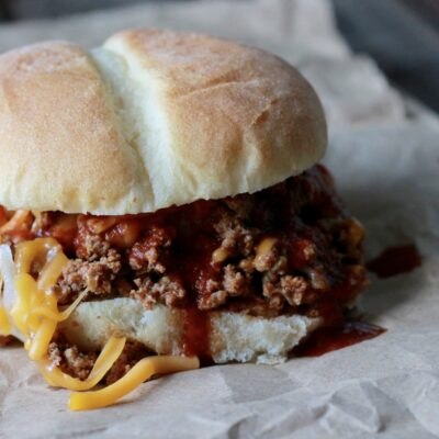 Slow Cooker Enchilada Sloppy Joes