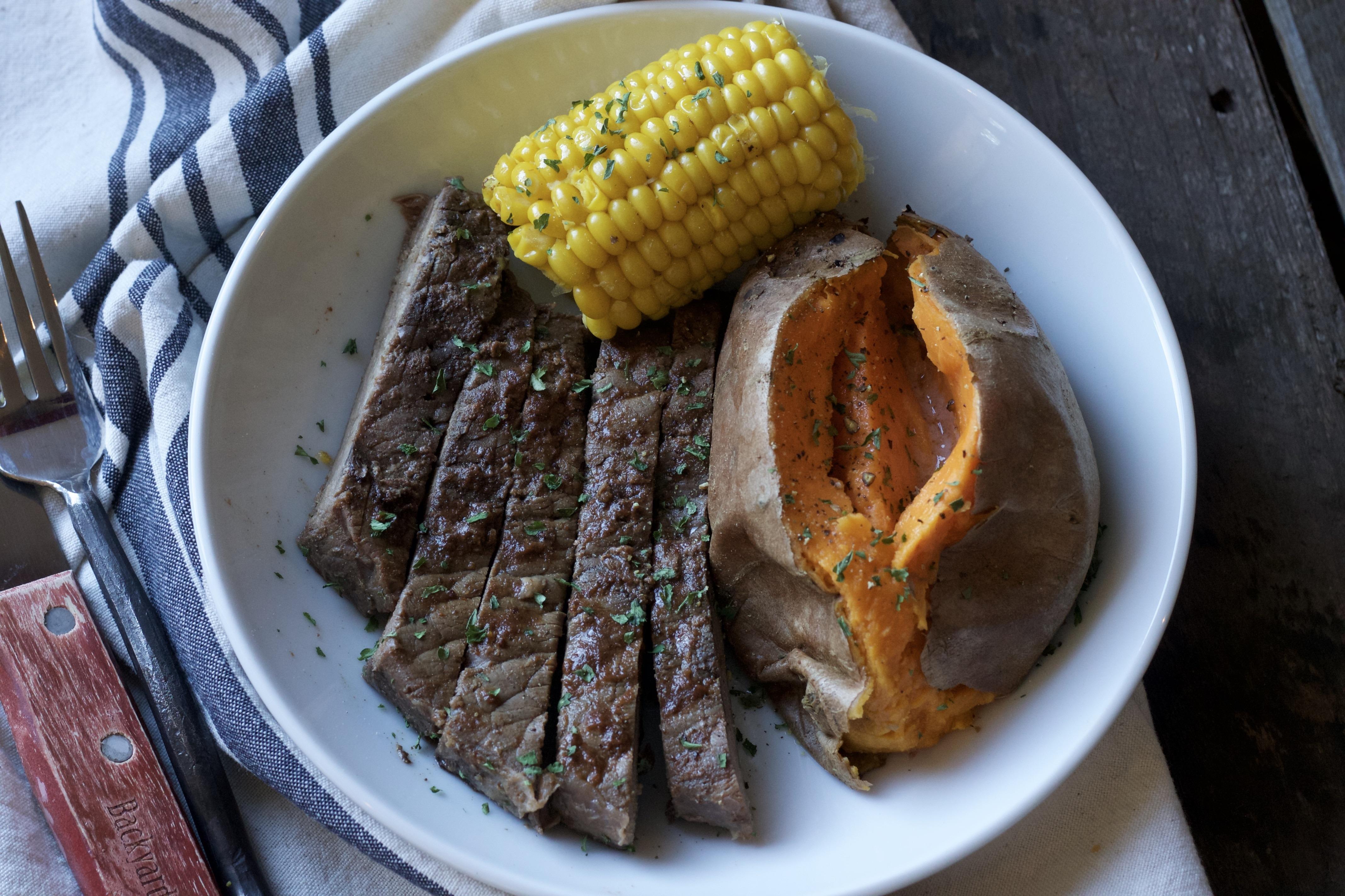 Easy Weeknight Steak Dinner