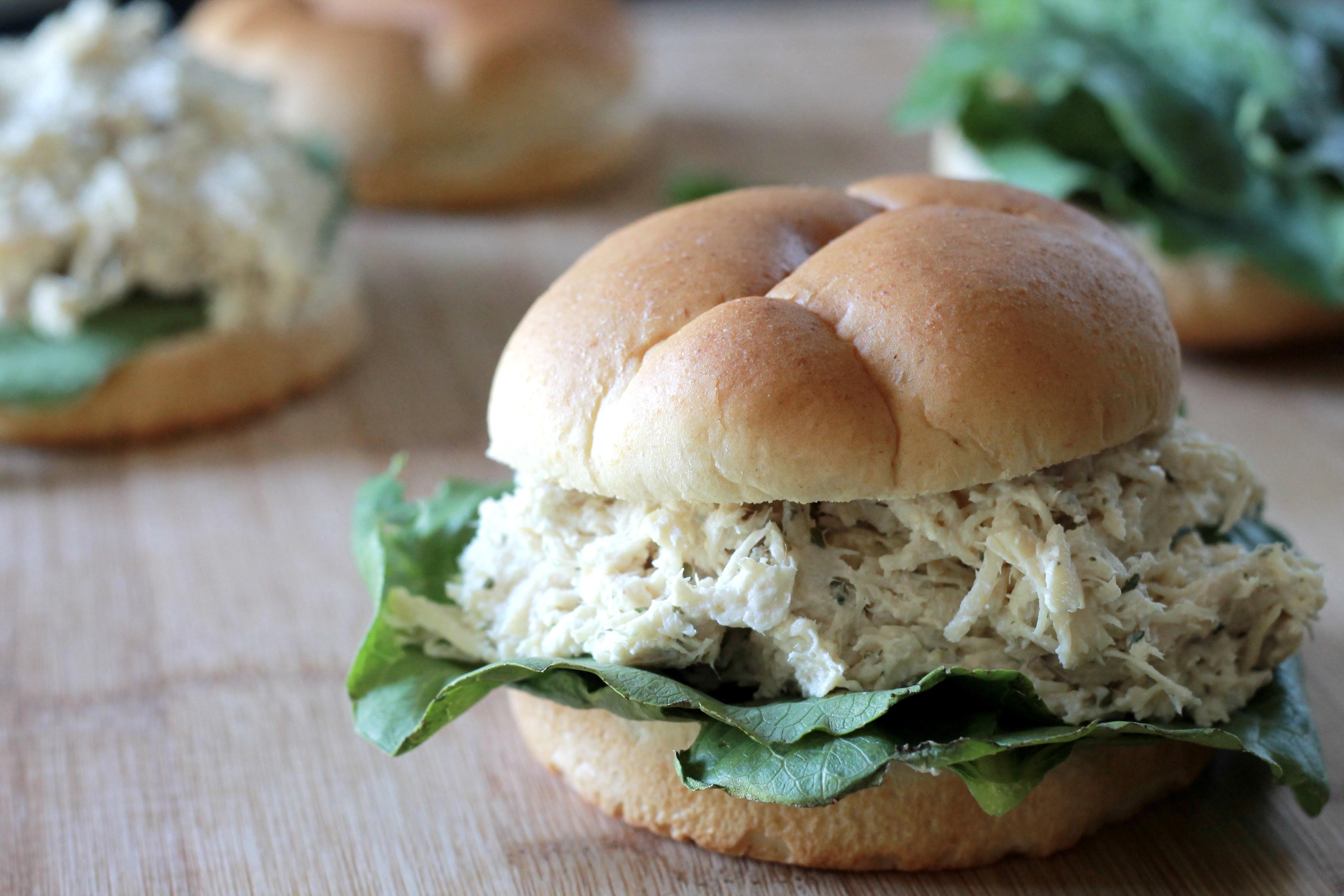 Easy Turkey Caesar Sandwiches
