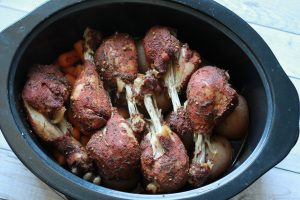 slow cooker chicken legs