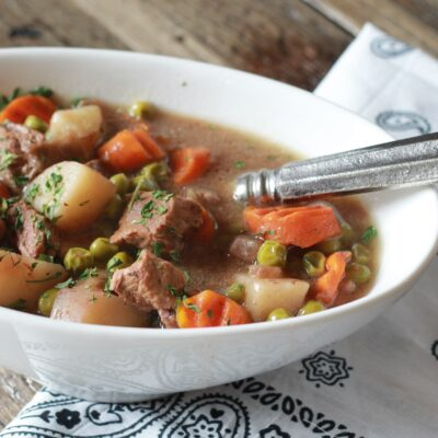 Slow Cooked Irish Beef Stew Recipe