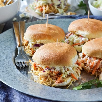 Buffalo Chicken Sliders – C sample recipe