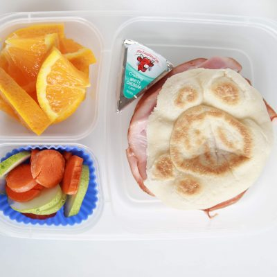 English Muffin With Ham – L